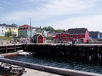 Lunenburg County, Nova Scotia - Lunenburg harbourfront