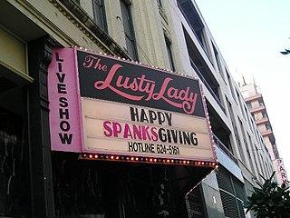 Lusty Lady Defunct peep show establishments