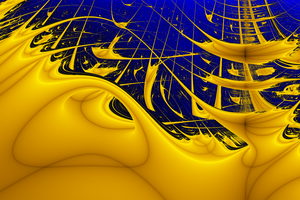 Lyapunov fractal - Image: Lyapunov fractal