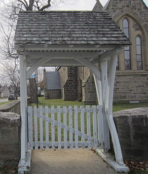 St. Anne's Chapel (Fredericton) - The Lychgate at St Anne's Chapel