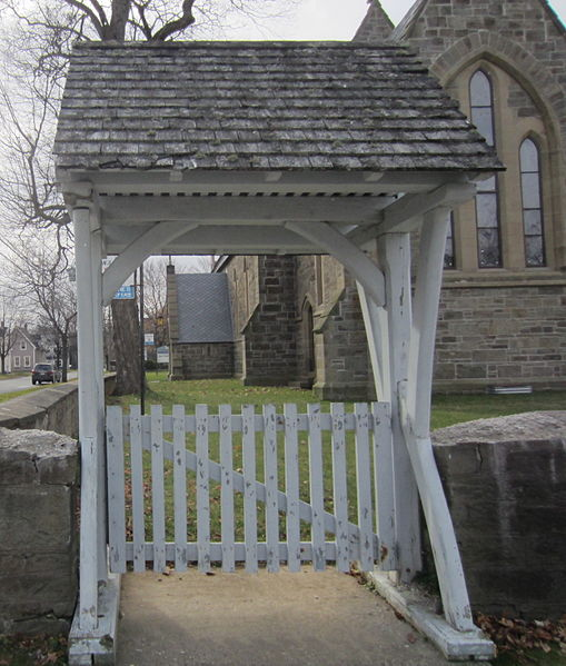 File:Lychgate at St. Anne's Chapel of Ease in Fredericton.jpg