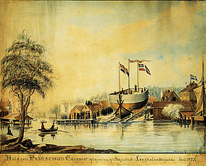 1847 in Sweden - Mälarvarvet 1847