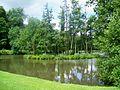 Méry-sur-Oise (95), parc du château de Méry, île sur la rivière anglaise.jpg