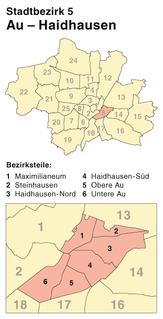 Au-Haidhausen borough of Munich