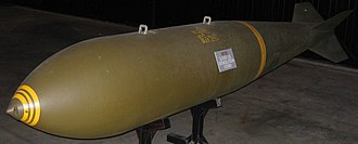 Mark 118 bomb - M-118 displayed at the National Museum of the United States Air Force, Dayton, Ohio