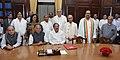 M. Venkaiah Naidu with the newly elected Member of Rajya Sabha, Shri Pradip Bhattacharya, Shri Manas Ranjan Bhunia, Smt. Shanta Chhetri, Shri Derek O`Brein, Shri Sukhendu Sekhar Roy and Ms. Dola Sen.jpg