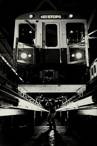 Free Car History Report >> File:MBTA 1700 series Red Line car under construction, 1986.jpg - Wikimedia Commons