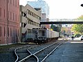 MBTA gravel cars on the Grand Junction, October 2016.JPG