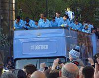 Parade juara Liga Utama Inggris 2012