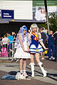 MCM London 2014 cosplay (14266980481).jpg
