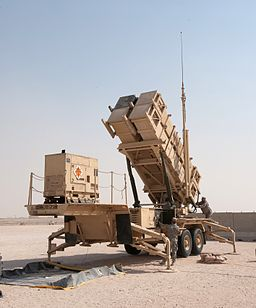 MIM-104 Patriot surface-to-air missile system launcher