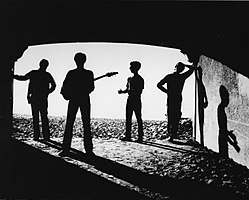 Back cover Out of the Tunnel (1980) Photo by Kim Torgerson