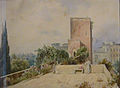 M napol - Villa Paolina la torre delle mura 1280252.JPG