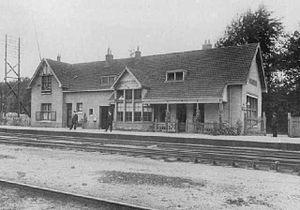 Maarn railway station - Image: Maarn 1