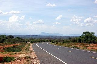 Machakos County County in Kenya