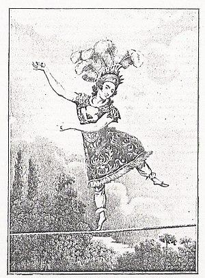 Madame Saqui - Rendering of Madame Saqui