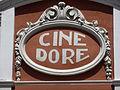 Madrid, detalle del Cine Doré, de la Filmoteca Española.JPG