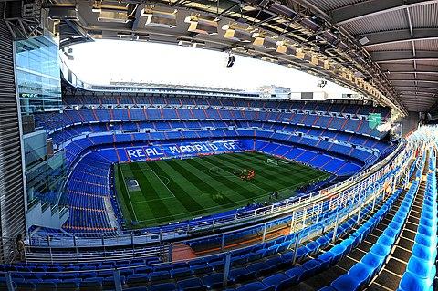 Madrid Santiago Bernabeu Stadium