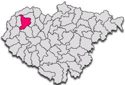Commune Măerişte in Sălaj County