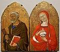 Maestro della madonna di palazzo venezia, ss. maria maddalena e pietro, 1350 ca.jpg