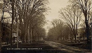 Charlestown, New Hampshire - Image: Main Street Looking South, Charlestown, NH