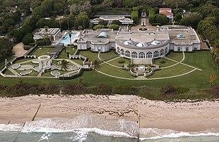 Maison de LAmitie former estate in Palm Beach, Florida
