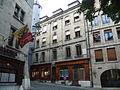 Maison où vécu Henri Dunant lors de la création du Comité international de la Croix-Rouge.JPG