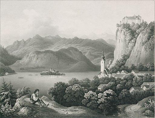 Malerische Ansichten aus Krain - Veldes II