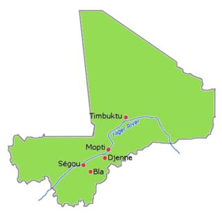 Bamana Empire former country