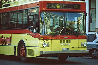 National Bus Company (Australia) - Ansair bodied MAN SL200 in 1997