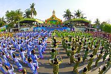 Burmese Water Festival Union City
