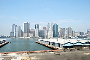 city's hottest properties of 2013 in Brooklyn Manhattan as seen from Brooklyn Heights