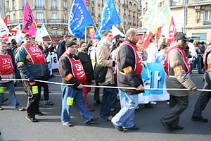 First Employment Contract - Demonstration against CPE, 18 March 2006, Paris