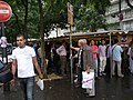 Manifestacio subtene al Mohamed Mursi (Parizo) 2.jpg