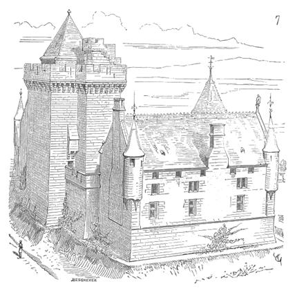 Page viollet le duc dictionnaire raisonn de l architecture fran aise du xie au xvie si cle - Manoir dessin ...