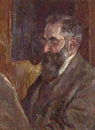 Camden Town Group - J. B. Manson. Lucien Pissarro Reading, est. 1913