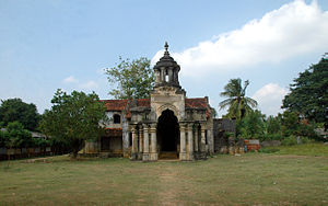 Ruins of Jaffna kingdom - Mantri Manai or Residence of the Ministers among the ruins