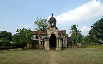 Jaffna Kingdom - Mantri Manai – The surviving remains of the minister's quarters that was reused by the Portuguese and Dutch colonials