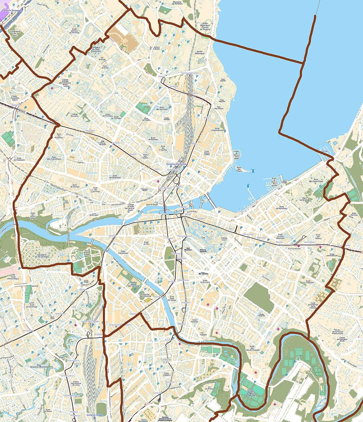 Plaine de plainpalais wikip dia - Office cantonal de la navigation geneve ...