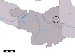 Zaamslagveer in the municipality of Terneuzen.