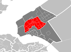 Almere Stad - Image: Map NL Almere Stad