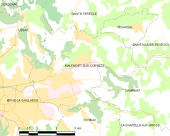 Map commune FR insee code 19123.png