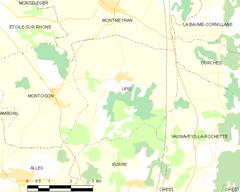 Map commune FR insee code 26358.png