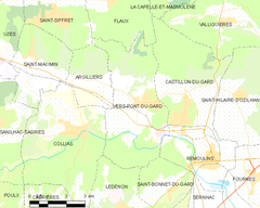 Map commune FR insee code 30346.png