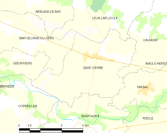 Map commune FR insee code 32378.png
