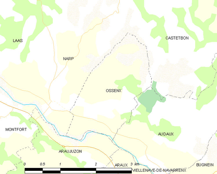 Súbor:Map commune FR insee code 64434.png