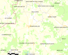 Map commune FR insee code 89073.png