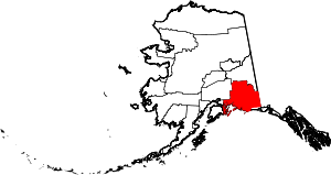 Map of Alaska highlighting Valdez-Cordova Census Area.svg
