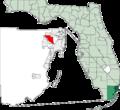 Map of Florida highlighting Hialeah.png