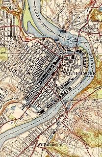 Holyoke Canal System United States historic place